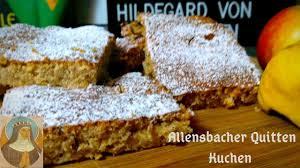 hildegard bingen quitten blechkuchen kochen mit tom honeybear berlin