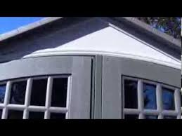 Home Depot Storage Sheds 8x10 by Lifetime 8x10 Shed Youtube