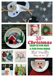 Over 30 Easy Christmas Fun Food Ideas Crafts Kids Can Make