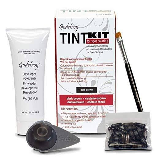 Godefroy Tint Kit - Dark Brown