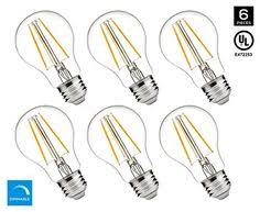 santaro c35 4w led filament bulb e12 6pack led bulb