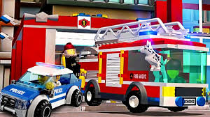 Lego Police Car, Fire Truck, Sport Cars, Construction Vehicles ... Lego City Fire Ladder Truck 60107 Walmartcom Brigade Kids Pin Videos Images To Pinterest Cars 2 Red Disney Pixar Toy Review Howto Build City Station 60004 Review Boxtoyco Moc 60050 Train Reviews Lego Police Buy Online In South Africa Takealotcom Undcover Wii U Games Nintendo Playing With Bricks My Custom A Video Update 60002 Amazoncouk Toys Airport Remake Legocom