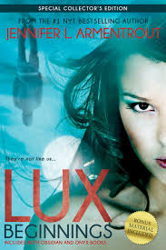 Lux Beginnings ObsidianOnyx By Jennifer L Armentrout