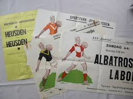 Fifty Year Old Posters Amateur Football Matches