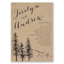 Rustic Wedding Invitations Mixed With Mesmerizing Layout Invitation And Font Type 4