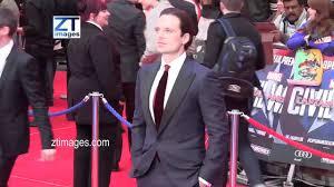 Sebastian Stan At The Film Premiere Captain America Civil War In London UK
