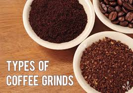 Types Of Coffee Grind Sizes Chart