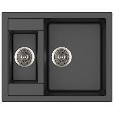 carysil mozart composite sink insert 615mm black