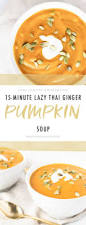 Thai Pumpkin Curry Soup Recipe by Lazy Thai Ginger Pumpkin Soup With Coconut Cream