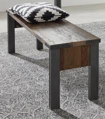 sitzbank prime in used wood design mit matera grau esstisch bank ohne rückenlehne shabby 140 x 44 cm