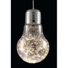 large light bulb hanging oversized equator pendant