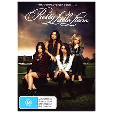 Pll Halloween Special Season 1 by Pretty Little Liars Seasons 1 4 Dvd Big W