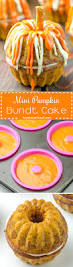 Pumpkin Shaped Cake Bundt Pan by Mini Pumpkin Bundt Cake Recipe From Yummiest Food Cookbook
