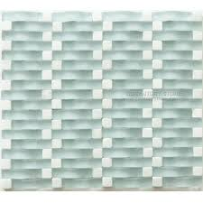 3d design wave frosted glass mix mosaic tile buy glass mix