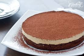 Flourless Chocolate Cake with Coffee Mousse 1