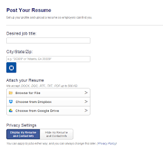 Post Resume On CareerBuilder