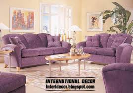Grey And Purple Living Room Furniture by Elegant Vintage Living Room With Nice Purple Sofa And Grey White