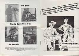 details zu torgau a e prospekt um 1928 für schleifmaschinen u apparate ernst walther