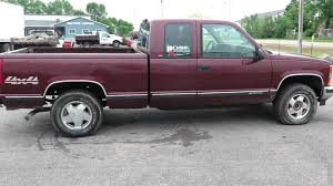 Lot 13 - 1998 Chevy 1500 Truck, 2 Door Extended Cab, 5.0 L V-8 ...