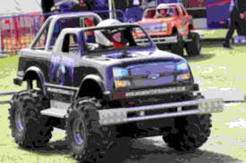 100 Build Mini Monster Truck MSV Tickets Convoy In The Park Featuring British Racing