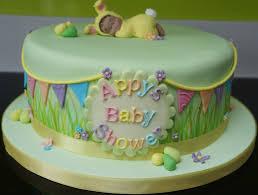 Spring themed baby shower cake Georgina s Cakes
