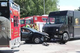 100 Ups Truck Accident One Person Injured In 2vehicle Crash Public Enterprisepubcom