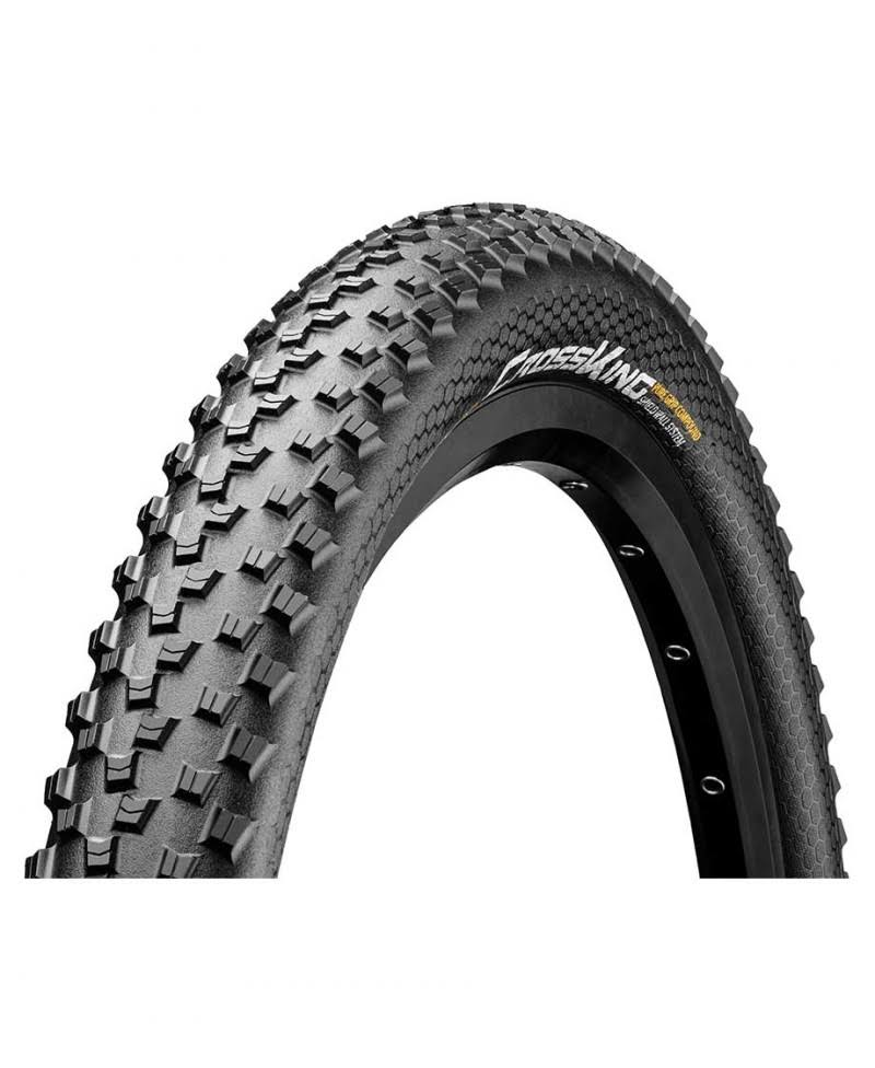 "Continental Cross King 0150295 Puregrip Folding Tire - Black, 29"" x 2.2"""