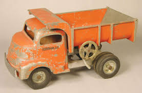 Smith-Miller Toy Truck, Original, Sand And Gravel Dump Truck.