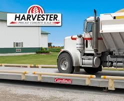 100 Truck Weight Scales Harvester Precast Concrete Livestock Prime USA