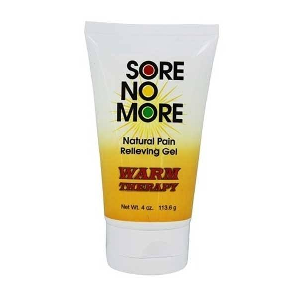 Sombra Cosmetics Sore No More Warm Therapy Natural Pain Relieving Gel Tube - 4oz