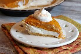 Pumpkin Layer Cheesecake by No Bake Double Layer Pumpkin Pie