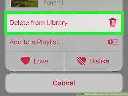 2 Easy Ways to Delete Music on Your iPhone wikiHow