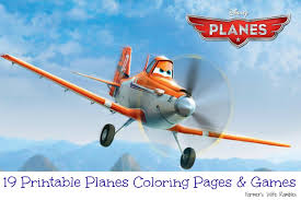 19 Printable Planes Coloring Pages Games Disney PixarNew