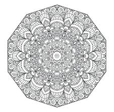 Free Printable Floral Mandala Coloring Page Open Mind More Owl Pages For Adults Pdf Colouring