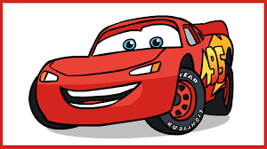 How To Draw Lightning McQueen. Cars Disney Pixar. - YouTube