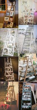 Wood Ladder Wedding Decor Ideas