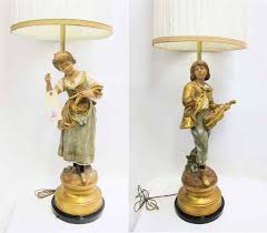 Marbro Lamp Company Los Angeles by Price Guide For Pair Marbro Lamp Co Figural Table Lamps