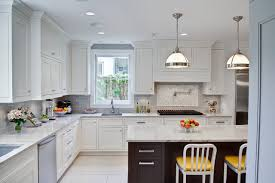 Oak Park Kitchen & Powder Room Traditional Kitchen Chicago