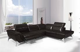 canape angle cuir relax electrique canapé d angle fonction relax en cuir italien 5 places conforto