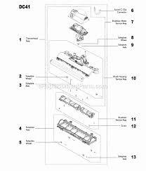 Dyson Dc41 Hardwood Floor Attachment by Dyson Dc41 Parts List And Diagram Ereplacementparts Com