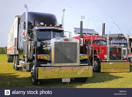 ALAHARMA, FINLAND - AUGUST 11, 2017: Classic Conventional Peterbilt ... Which Is Better Peterbilt Or Kenworth Raneys Blog Custom Trucks Pinterest Acceptable Dump Truck Show 389 Orange Skin Racedepartment Gallery New Hampshire Great 359 For Sale All About Hillwick Us Dieisel National 2011 Jack Movin Out Calendar Includes Vintage Vehicles Little Tikes Yellow Also Colossus As Well Bruder Mack 379 Brooks Aaronk Flickr Httpwwridndpolishmwpcoentblogsdir38filesgreat Trucks Peterbilt Night In Usa Youtube