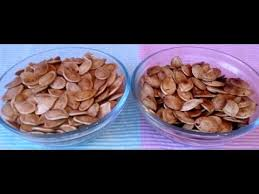 Toasting Pumpkin Seeds In Microwave by Sweet And Spicy Pumpkin Seeds On Stove Top And Oven Youtube