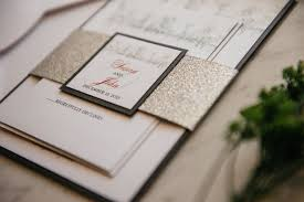 Susan Johns Winter Wonderland Wedding Invitation Suite