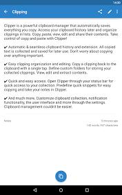 Clipper Clipboard Manager screenshot