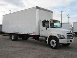 2015 Used HINO 268 (28ft Box Truck With ICC Bumper) At Industrial ...