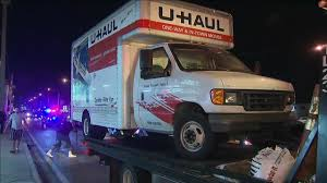 U-Haul Driver Causes Chain Reaction Crash; 4 Hospitalized Uhaul Truck Editorial Stock Photo Image Of 2015 Small 653293 U Haul Truck Review Video Moving Rental How To 14 Box Van Ford Pod Free Range Trucks And Trailers My Storymy Story Storage Feasterville 333 W Street Rd Its Not Your Imagination Says Everyone Is Moving To Florida Uhaul Van Move A Engine Grassroots Motsports Forum Filegmc Front Sidejpg Wikimedia Commons Ask The Expert Can I Save Money On Insider Myrtle Beach Named No 25 In Growth City For 2017 Sc Jumps