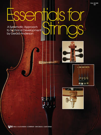 Essentials for Strings Violin