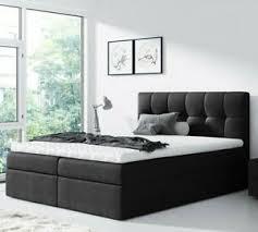 details zu boxspringbett dolla doppelbett polsterbett mit matratze modern schlafzimmer