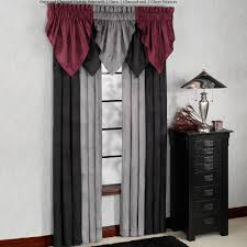 Absolute Zero Curtains Red by Solid Color Curtains Touch Of Class