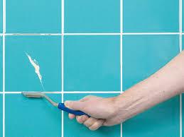 Regrout Bathroom Tile Video by Easy Grout Repair Video Diy